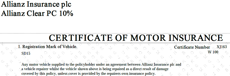 Prevention of Motor Certificate Theft - Rowlands & Hames
